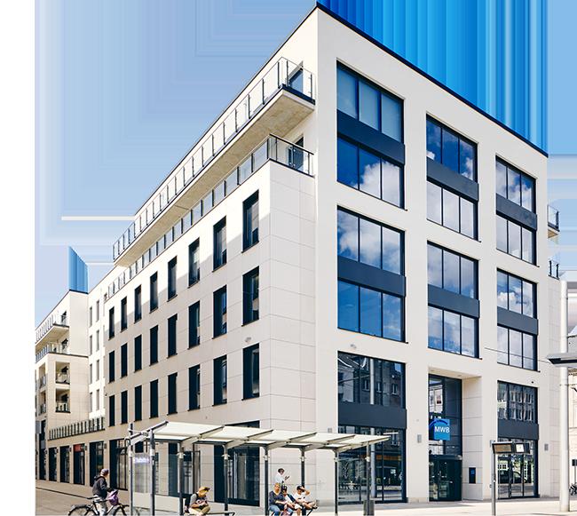 MWB Gebäude von außen